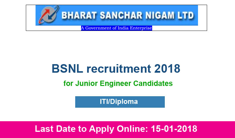 bsnl-recruitment-2018