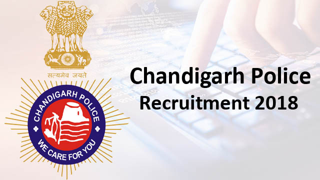 Chandigarh Police Recruitment 2018