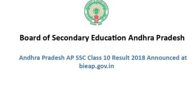Andhra Pradesh AP SSC Class 10 Result 2018 Announced at bieap.gov.in.