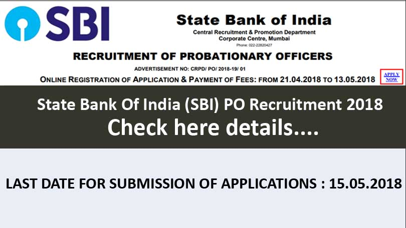 State Bank Of India (SBI) PO