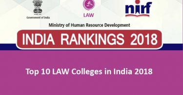 Top 10 Law Colleges in India 2018