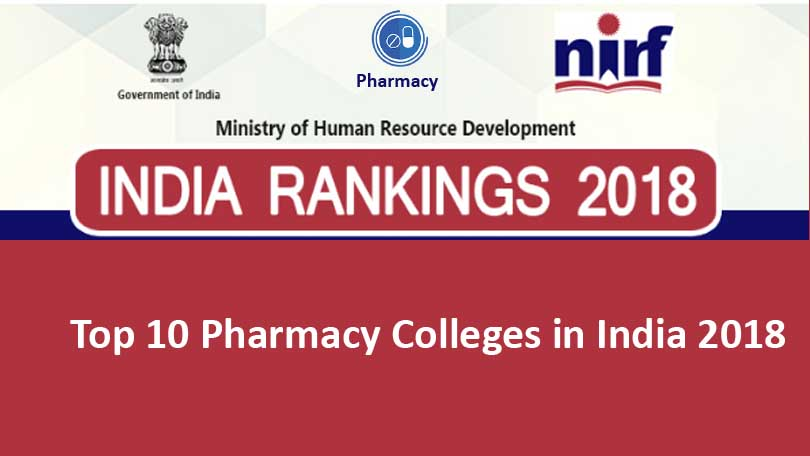 Top 10 pharmacy colleges in India 2018