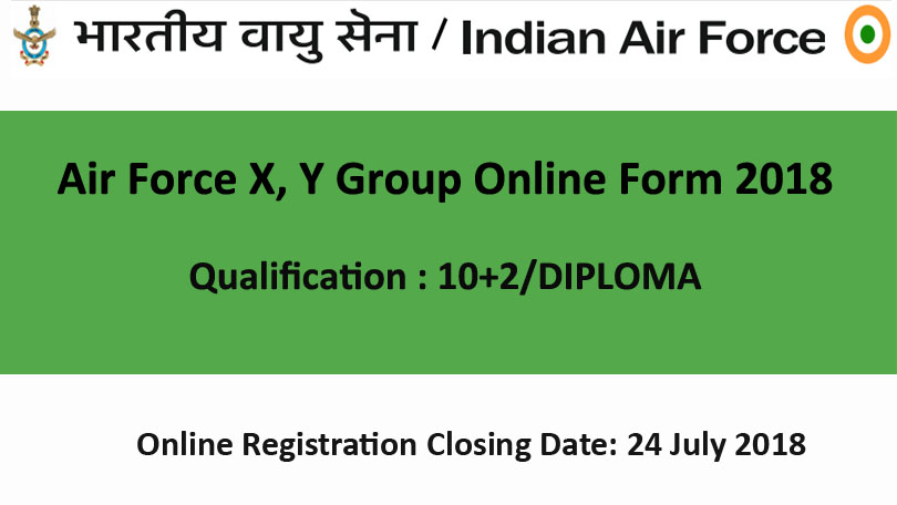 Air-Force-X-Y-Group-Online-Form-2018