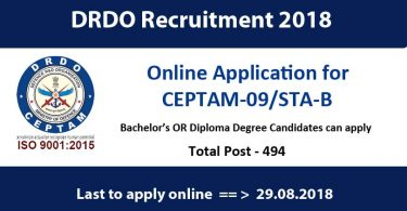 drdo-recruitment-2018