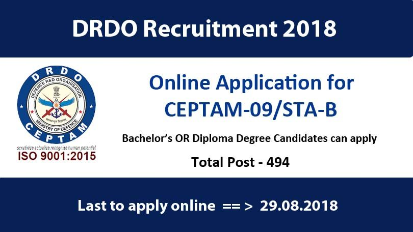 drdo-recruitment-2018